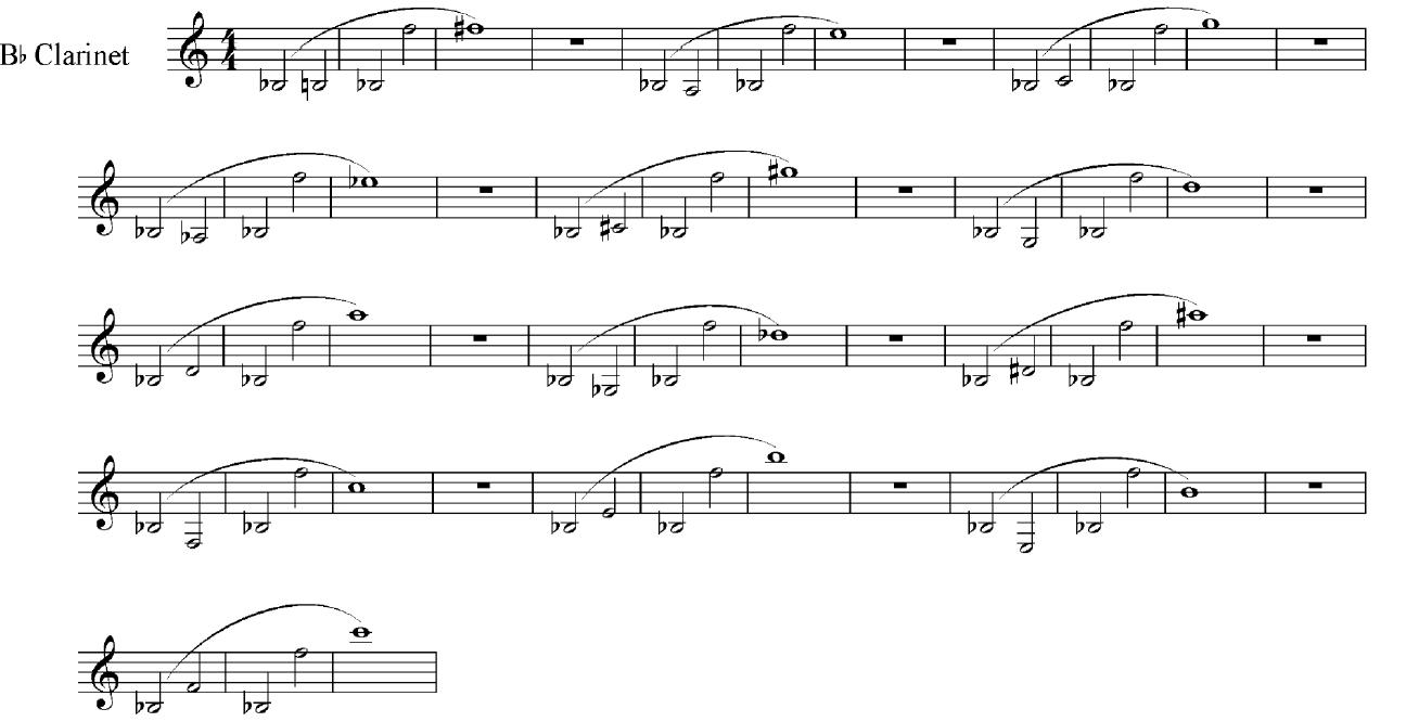 Clarinet Undertones 1
